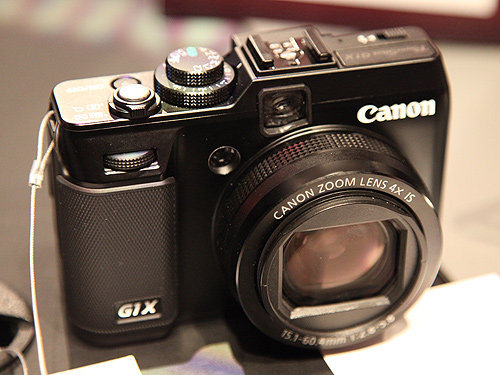 The Canon PowerShot G1 X would look and feel familiar to those who are used to the PowerShot G12.