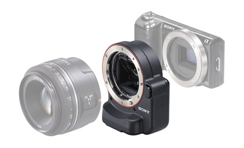 Adapters are available to fit non-native lenses, but results are varied. Some adapters will add noticeable size and weight to the camera.