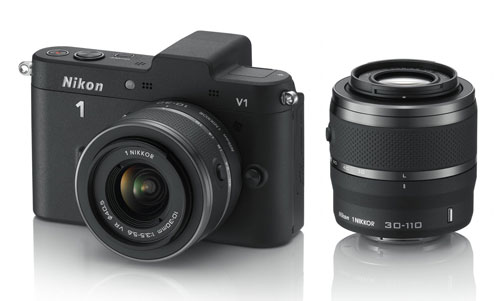 Like DSLR cameras, mirrorless system cameras' lenses aren't fixed and can be swapped.