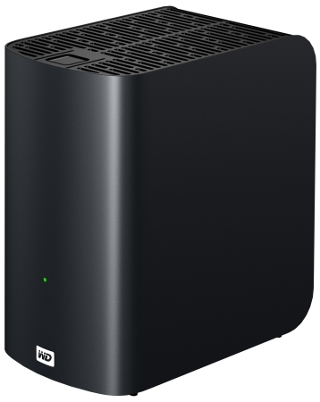 how to access wd tv live hub from pc