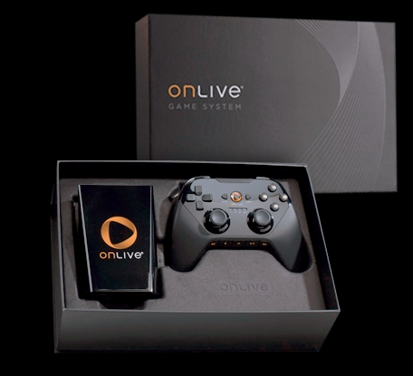 This is the OnLive Game System that allows you to game on the TV
