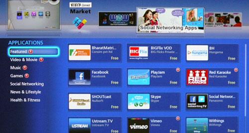 Panasonic Viera App Store