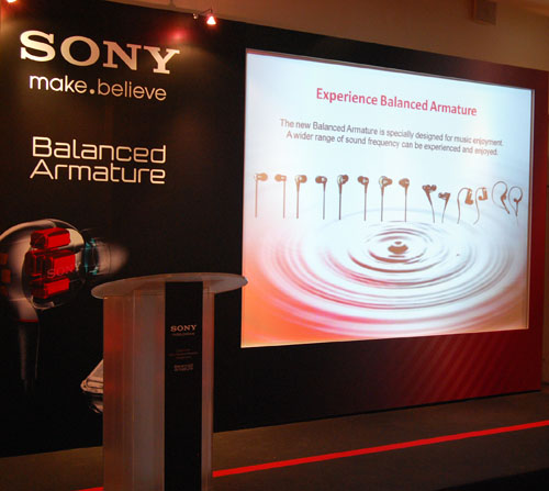 The wait is finally over as the Sony XBA Headphones finally arrive in Singapore.