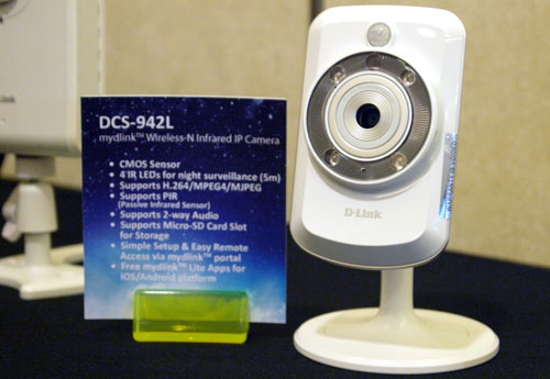 You can say that the DCS-942L is the smaller sibling of the DCS-522L. The two models are almost alike in terms of features such as their wireless 802.11n compliance and day/night vision, However, the DCS-942L does not offer any pan and tilt functions like its more expensive brother.