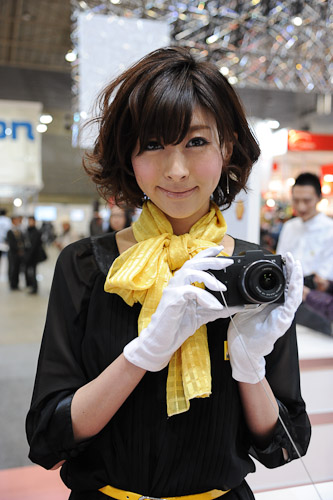 The brand new Coolpix compact cameras as well as the Nikon 1 mirrorless system cameras were also on display.