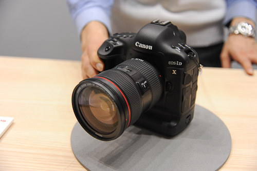 The Canon 1D X. People just loved squeezing the trigger to hear the shutter go clackity-clack at 14 frames per second.