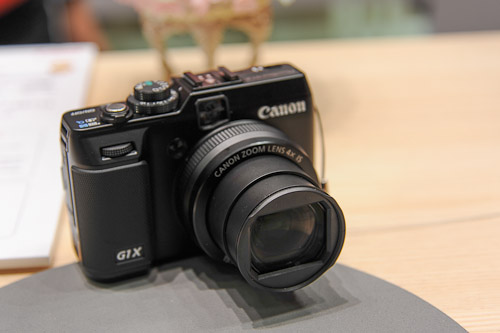 The Canon G1 X, successor to the PowerShot G12.