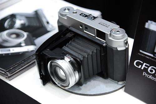 The GF670 Professional is a folding, medium format film camera.