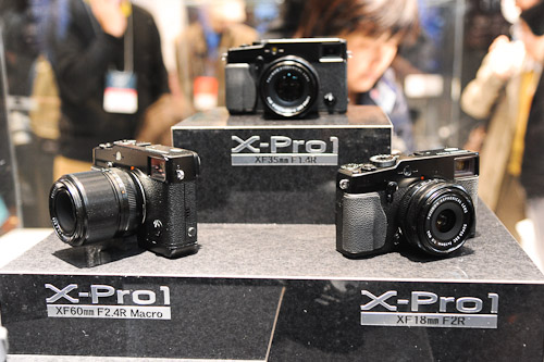 The camera everyone wanted to see, the Fujifilm X-Pro 1.