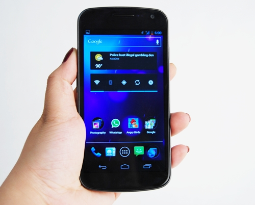 The Samsung Galaxy Nexus is a worthy phone, one that's sadly dented by its late arrival in Singapore.