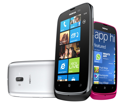 Nokia Lumia 610 (Image source: Nokia)