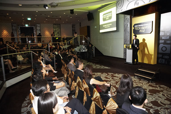 As with our previous Tech Awards 2011 ceremony, Olie Pettigrew once again played host to an extensive and esteemed selection of guests from all corners of the consumer electronics industry.