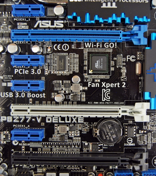 There are two PCIe Gen 3.0 PEG slots (blue and grey) which are auto-configured at x16 mode (single) or x8/x8 mode (dual). The black x16 PEG slot is configured for PCIe 2.0 at x4 mode (maximum) and the rest of the 4 slots are PCIe 2.0 x1.