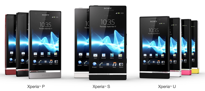 New year, new name, new smartphones, with not so new technology from the Sony Xperia family. (Image source: Sony)