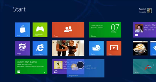 Windows 8 Consumer Preview is now available to download. What are you waiting for? (Image source: Microsoft)