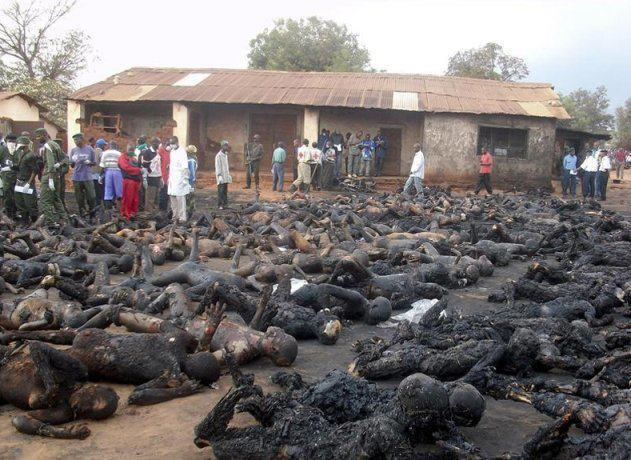 Christians burnt alive by Sunni Muslims according to a certain Jillian Becker.