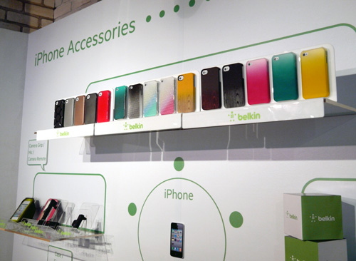 An overview of Belkin's iPhone 4S accessories you can expect in the coming months. Interestingly, Belkin's iPhone cases were also designed to ensure that the light from the phone's flash isn't refracted unnecessarily, which may lead to blemished images.