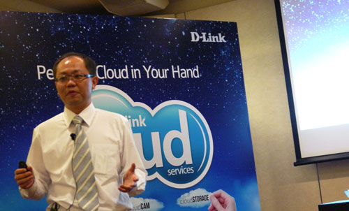 "Mr Jacky Chang, Vice President of D-Link (South Asia, Australia & New Zealand), gave us an overview of the Cloud initiative and the company's new suite of networking products. ""After 25 years of groundbreaking technology and innovation, the D-Link Cloud initiative is D-Link's latest endeavor to drive usability and connectivity in the consumer networking space"", said Mr Chang."