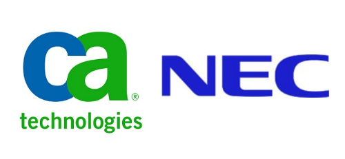 nec bolsters cloud service protection with ca technologies