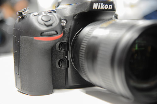 Similar to the D700 is the depth-of-field preview button on the top and a Function button below.