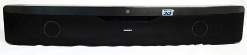 The horizontal speaker component of the sound bar is the one responsible for providing most of the audio.
