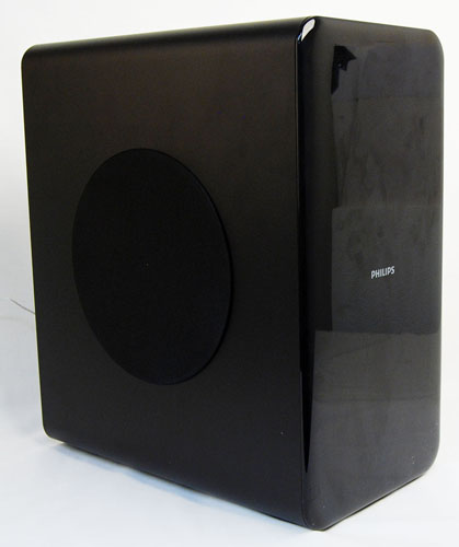 MDF is used in the construction of the subwoofer making it sturdy and able to withstand a few knocks.