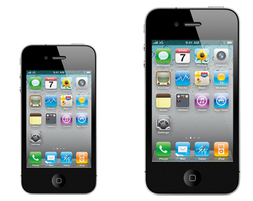 An up-sized iPhone? The rumors are starting up once more.