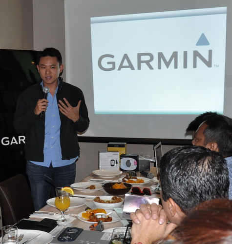 Mark Tan, President of NAVCO, distributor of Garmin products in the Philippines.