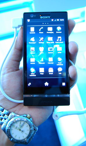 With its features and hardware, the Xperia P is a top notch smartphone.