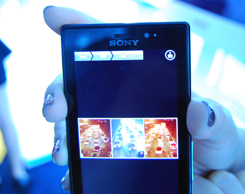 "Get ready to see the ""Throw"" button (located in the top right hand side of the Sola screen in this shot) on a lot more Sony products."