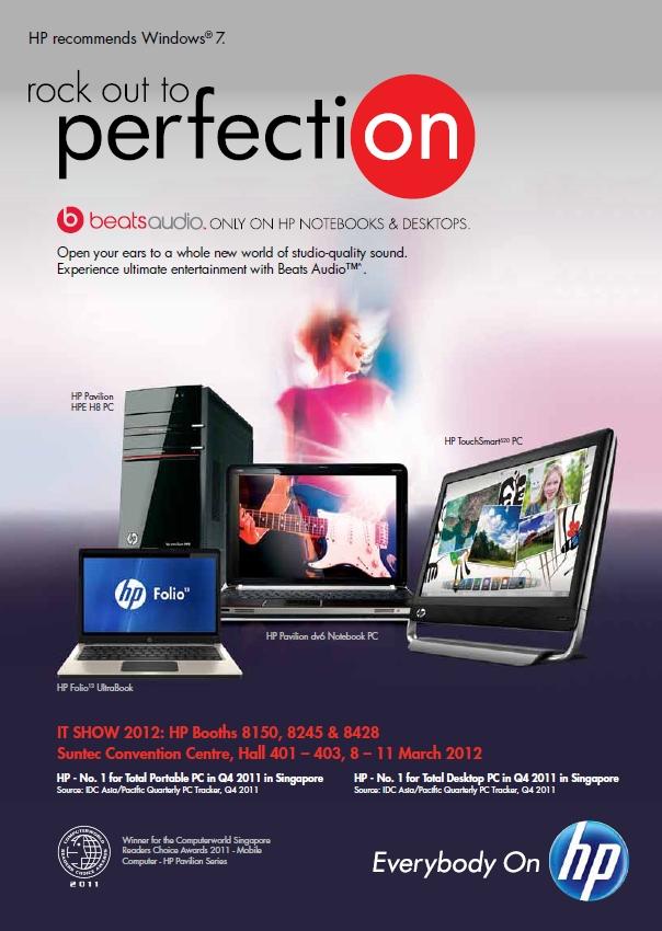 desktops dell   hp it show 2012 notebooks  systems All in One Desktop PC PC Desktop Screen