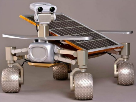 Moon Rover 'Asimov' (Image source: NVIDIA)