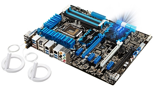 The ASUS P8Z77-V Deluxe sports 4 memory DIMM slots and it support dual-channel DDR3 memory kits of up to 32GB in capacity. The board features three Digi+ power controllers that control power regulation for both the CPU and DRAM.