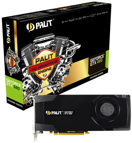 Palit GeForce GTX 680