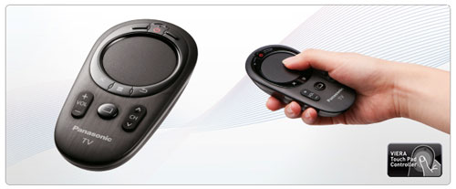 Anyone who has navigated a web browser on a Smart TV with a standard remote would understand how painful it can be. A quick and more practical approach would be to use a touch-enabled interface, as shown here with Panasonic's Touch Pad Controller.