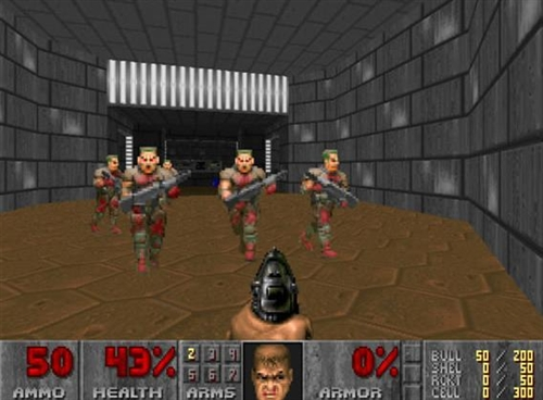 Many games had copied Doom gameplay structure of the first person shooter but had differentiated itself with other features.