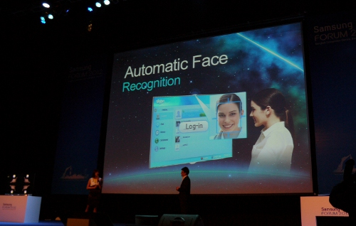 Miss Tan and Mr Arias also touched on the new facial recognition feature to be implemented with the new range of TVs. For instance, you may log on to social networking apps like Facebook or Twitter by relying on the TV's built-in camera instead of logging in to the application manually.