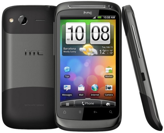 The HTC Desire S is one of the more locally popular HTC models that make the cut. (Image Source: HTC)