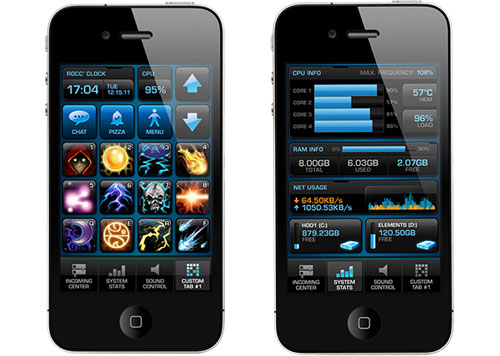 Roccat's Power Grid app is currently available in beta on iOS only. Android fans will have to wait.
