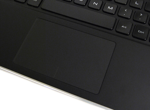 The trackpad is equipped with a useful palm recognition feature that will detect when your palms inadvertently touch the trackpad, and won't register that as cursor movement - doing away with the need for a trackpad lock.