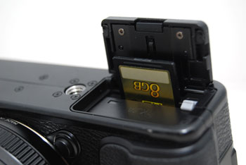 In a minor but irritating quibble, the SD card slot is right in front of the cover, which makes it difficult to extract the card.