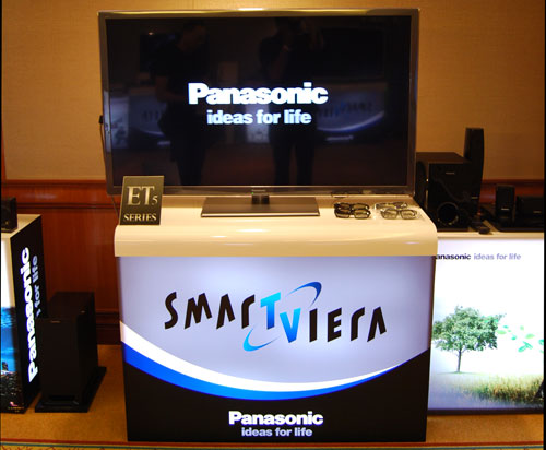 Available in 42, 47 and 55 inches, the ET5S will be Panasonic's maiden foray into the world of passive 3D TVs. The polarized 3D set will flaunt an IPS Clear Panel with a refresh rate of 300Hz.
