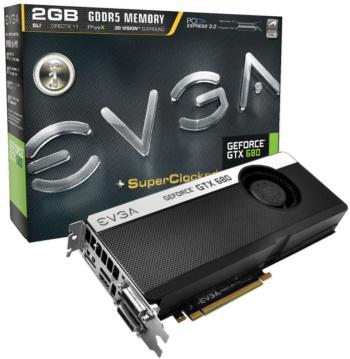 EVGA GTX 680 SC Signature+