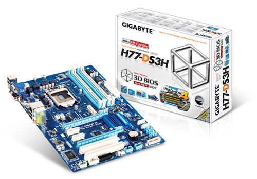 The GA-H77-DS3H doesn't feature the PCIe Bluetooth/Wi-Fi expansion card. This means that any configuration of the rig would have to be done in front of the rig using traditional I/O methods.
