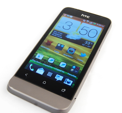 If you have always been a fan of HTC's design principles, the HTC One V will probably sit well with you.