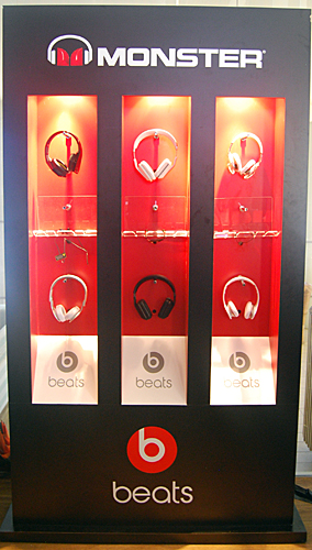 Two new additions were made to the Beats lineup from Monster at the launch event in the shape of the Beats Mixr and the Beats Wireless.