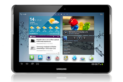 Samsung Galaxy Tab 2 (10.1) (Image source: Samsung)