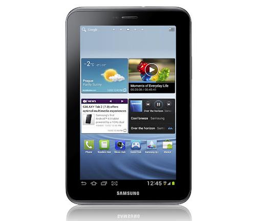Samsung Galaxy Tab 2 (7.0) (Image source: Samsung)