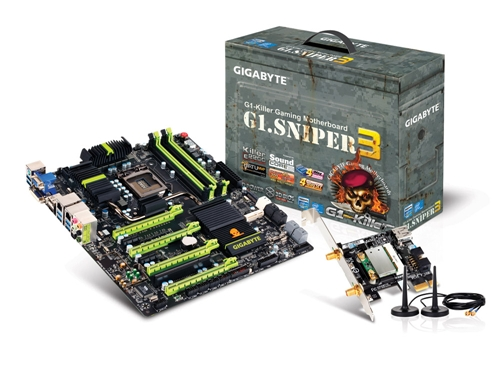 The G1. Sniper 3 is targeted at gamers who need to have up to 4-way SLI or CrossFire graphics setup. This board has a larger than life personality as it comes in XL-ATX form factor!