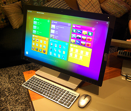 The Lenovo IdeaCentre A720